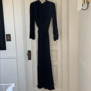 L'AGENCE silk maxi dress